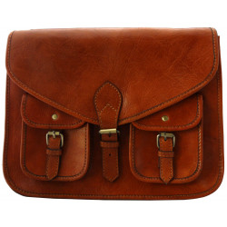 Premium Leather  Satchel Tan