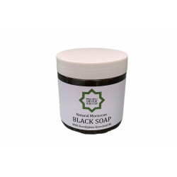 Moroccan Black Soap Infused with Eucalyptus Oil